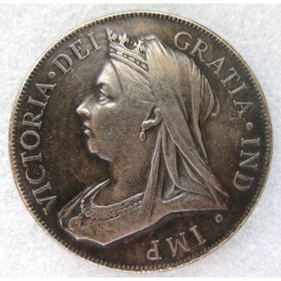 1893 Queen Victoria Double Florin