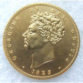 1825 George IV Double Sovereign - £2 Great Britian Coin