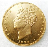 1826 George IV Double Sovereign - £2 Great Britian Coin