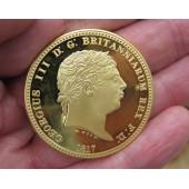 1817 George III Three Graces Crown
