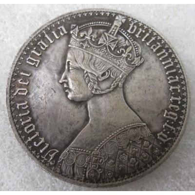 1847 Queen Victoria Gothic Crown