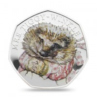 Mrs Tiggywinkle Royal Mint Proof Silver Coin