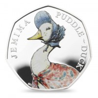 Jemima Puddleduck Royal Mint Proof Silver Coin